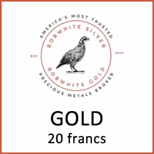 Gold 20 francs