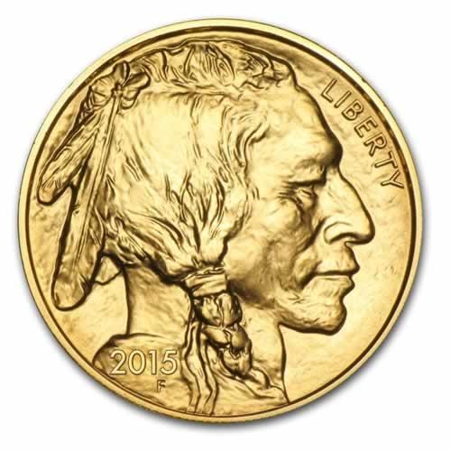 Gold American Gold Buffalo