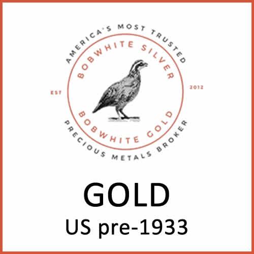 Gold US pre-1933