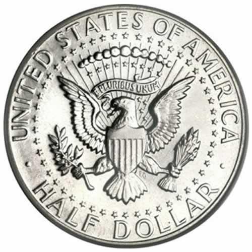 US-90-1964-Kennedy Half-Dollars-100-face-Reverse-2205002