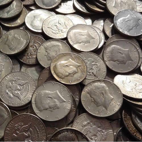 Silver 90% 1964 Kennedy Halves